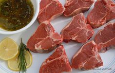 Lamb chops marinade