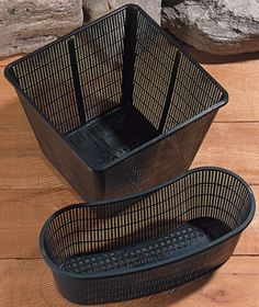 Coralife Energy Savers ACL77051 Pond Basket-Square 4x4x4-Inch by Coralife (Energy Savers). $1.26. Cora life's Pond Baskets are sturdy and durable. Constructed to allow water flow through pond plants root systems while keeping fish from grazing on them. Coralife's Pond Baskets are sturdy and durable.. Coralife's Pond Baskets are sturdy and durable. Coralife is one of the market?s leading manufacturers of premium aquarium products. Coralife is one of the market?s leading manufa...
