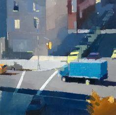 """<span class=""""artist""""><strong>Lisa Breslow</strong></span>, <span class=""""title""""><em>Blue Truck</em>, 2016</span>"""