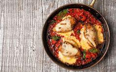 One Pan Chicken Parm