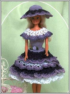 Barbie Crochet: Lilac, pattern