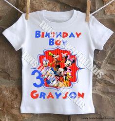 Paw Patrol Birthday Shirt - t-shirt / Short Sleeve Cousin Birthday, Family Birthday Shirts, Birthday Ideas, Third Birthday, Paw Patrol Birthday Shirts, 1st Birthday Boy Shirt, Birthday Board, Mickey Mouse Birthday Shirt, Mickey Mouse Clubhouse Birthday Party