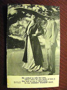 72. Merry Widow Hat, Big Hat 2