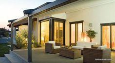 Existen pérgolas de diseño para terrazas. Éstas son un producto elegante que da un aspecto señorial a su terraza.