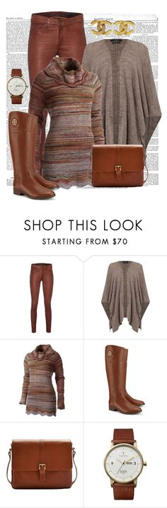 """""""Descontraido"""" by ebramos ❤ liked on Polyvore featuring rag & bone, Oui, Royal Robbins, Tory Burch, Joules, Triwa and Chanel"""