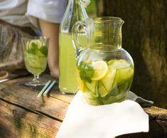 Okurková limonáda s vodkou | Recepty Albert