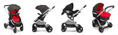 Convertibles: los cochecitos de bebé más ligeros y versátiles #bebes #cochecito #unamamanovata ❤ www.unamamanovata.com❤