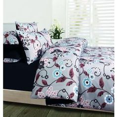 Stafford Microfibre Quilt Cover Set - Queen Bed