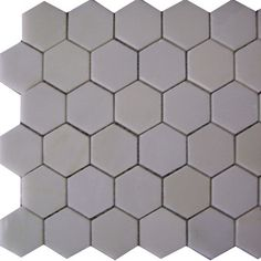 """Epoch Architectural Surfaces Thassos 12"""" x 12"""" Hexagon Polished Marble Mosaic in White"""