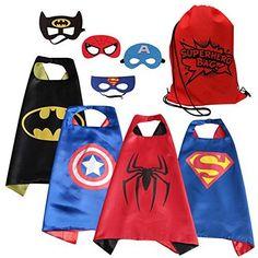 [$13.58 save 24%] Amazon #LightningDeal 75% claimed: Eli Superhero Cape & Mask costume set for toddlers #LavaHot http://www.lavahotdeals.com/us/cheap/amazon-lightningdeal-75-claimed-eli-superhero-cape-mask/175474?utm_source=pinterest&utm_medium=rss&utm_campaign=at_lavahotdealsus