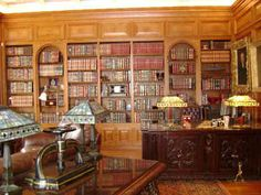 Library at the Inn at Seven Springs Bed and Breakfast Stowe, Vermont