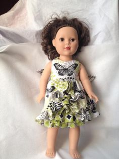 Doll Clothes - Irelyn Dress- $23