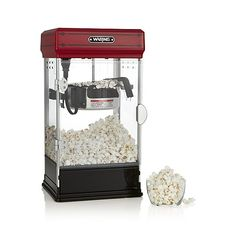 Waring ® Red Popcorn Maker   Crate and Barrel
