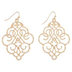 Napoli Earrings in Gold
