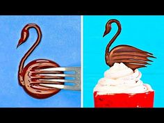 Easy And Cool Hacks For Chocolate Decor That Anyone Can Make - YouTube
