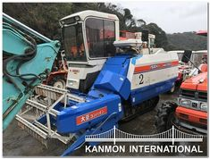 UsedJapaneseTractors.jp : ISEKI HB 280 COMBINE HARVESTER Combine Harvester, Tractors, Japanese, Japanese Language