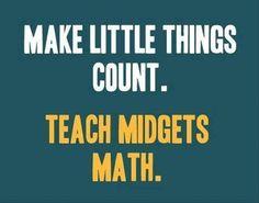 teach midgets math