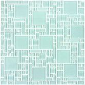 """Found it at Wayfair - Expressions 11-2/3"""" x 11-2/3"""" Glass Tile in Shell White"""