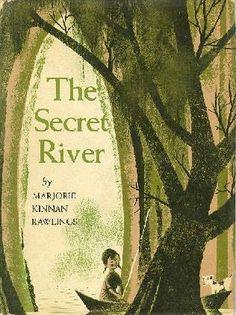 """Leonard Weisgard: Illustrations for """"The Secret River, written by Marjorie Kinman Rawlings"""