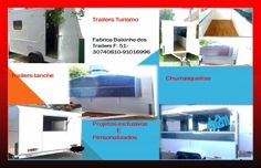 Trailer lanche,turismo,carrinhos,reboques,food truck