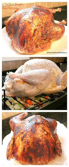 Best Turkey A combination of vegetables and seasoning makes this the perfect roast turkey recipe that is fragrant and delicious.A combination of vegetables and seasoning makes this the perfect roast turkey recipe that is fragrant and delicious. Best Turkey Recipe, Roast Turkey Recipes, Chicken Recipes, Turkey Baste Recipe, Oven Roasted Turkey, Baked Chicken, Meat Recipes, Southern Thanksgiving Recipes, Holiday Recipes