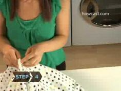 how to fold fitted sheets by yourself.