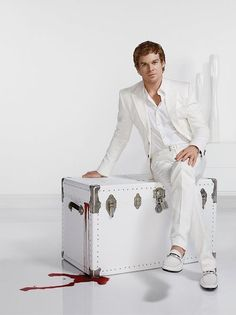 Dexter Morgan (if you've ever seen six feet under, he looks very much like his character David...)