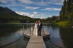 A lakeside Whistler wedding at Nita Lake Lodge!  PC: Logan Swayze