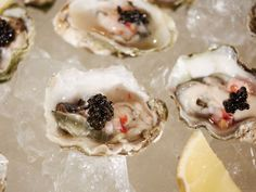 Oysters, Caviar and Bubbles