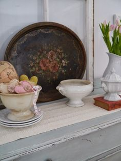 Chateau Chic - Rusty Tole Tray