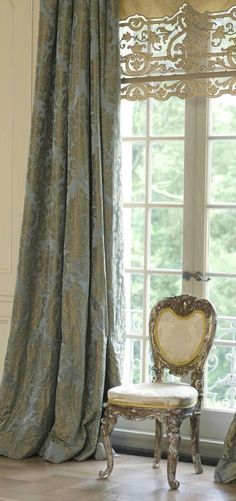custom French draperies DesignNashville.com message us for service and fabric options