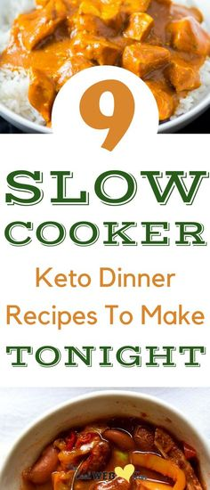 Keto crockpot slow cooker recipes. The perfect low carb dinners. The 9 slow cooker keto recipes which I can make over and over again.