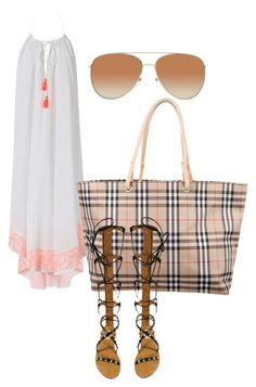 """""""Untitled #71"""" by tay-liangg on Polyvore featuring Heidi Klein, Burberry and Valentino"""