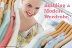 Building a modest wardrobe does not have to be stressful! It can actually be a lot of fun to create a wardrobe that is modest, feminine, and uniquely you! | themodestmomblog.com