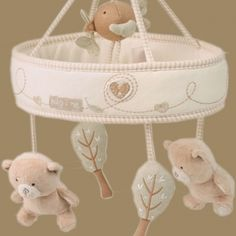 Hug Me Bear Musical Mobile - HM-Musical-Mobile-brown Little Babies, Little Ones, Eco Kids, Musical Mobile, Eco Clothing, Hug Me, Bassinet, Musicals, Kids Outfits