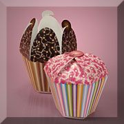 cupcake boxes that look like cup cakes