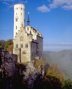 Lichtensteins slott, Lichtenstein.