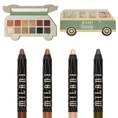 Milani Cosmetics, Makeup News, Glamping, Makeup Looks, Eyeshadow, Drawings, Beauty, Collection, Fashion Clothes