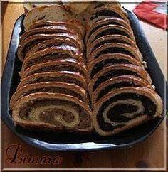Limara isteni beigli receptje Hungarian Cookies, Hungarian Desserts, Hungarian Recipes, My Recipes, Gourmet Recipes, Sweet Recipes, Cookie Recipes, Fun Cooking, Dios