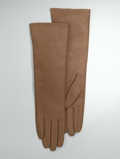 Talbots - Leather Three-Quarter Length Gloves | Cold Weather |