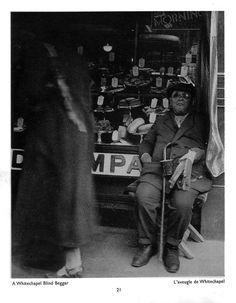 Bill Brandt, A Whitechapel Blind Beggar, 1931-35