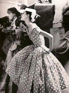 photo by Lillian Bassman 1950