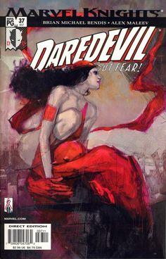 Daredevil #37 by Alex Maleev