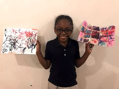 the students from Camden Street School enjoyed an artistic afternoon at a local community center with art & eden.