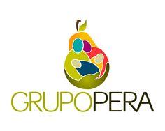 Diseñador Gráfico. Visita: LOGOLOVE.MX para ver Portafolio de diseño .  Diseño de logo grupo Pera. Tech Logos, School, Design Portfolio Layout, Design Logos, Group
