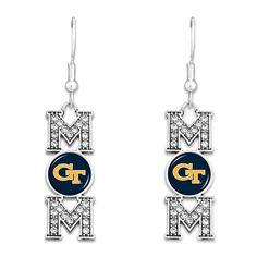 Georgia Tech University Yellow Jackets Sterling Silver Jewelry by Dayna Designs