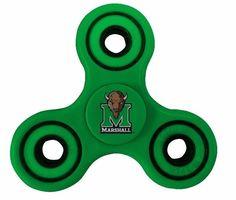 Marshall Thundering Herd Green Fidget Spinners #RR #MarshallThunderingHerd Fidget Spinners, Green, Ebay