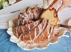 OH MY GOODNESS. I am not one to go nuts over sweets but this cake is to die for. Entire cake is covered in butter, cinnamon, and sugar… May I say more? Dip this slice of heaven in a hot cup o…