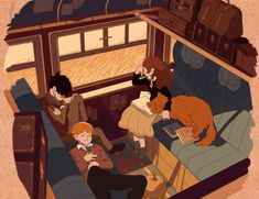 Harry Potter animation on Behance - Hogwarts