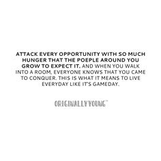 Attack every opportunity... #BeastMode #Inspiration #Motivation